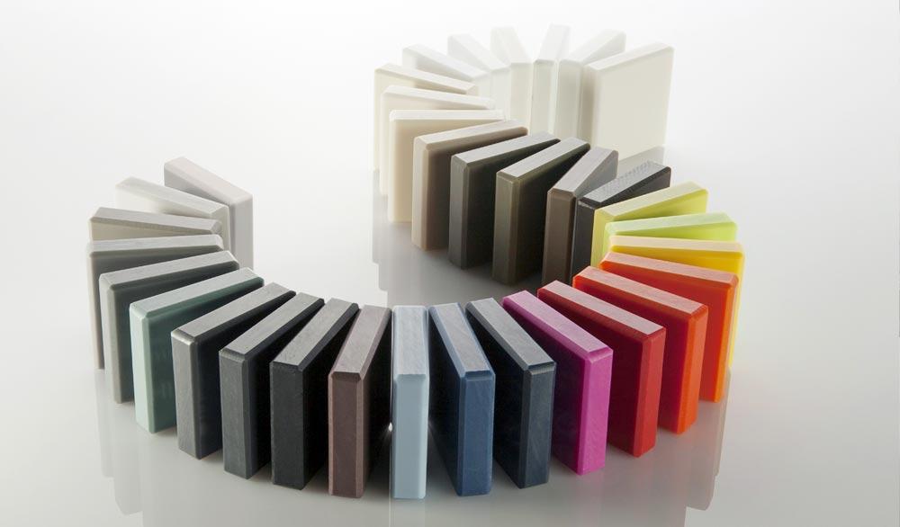 Цветовая палитра HI-MACS